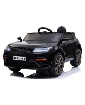 Elektrické autíčko Super-S čierne